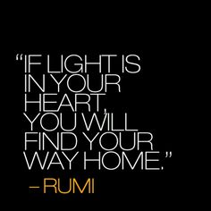 if light is in your heart
